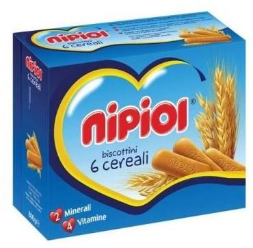 NIPIOL BISCOTTINI 6 CRL 800G