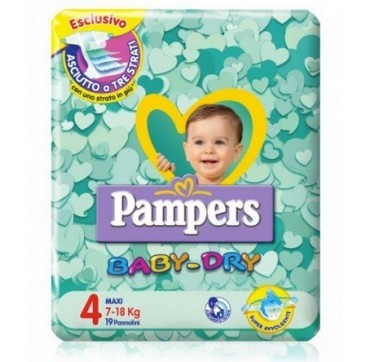 PAMPERS BD DWCT NO FLASH MAX19