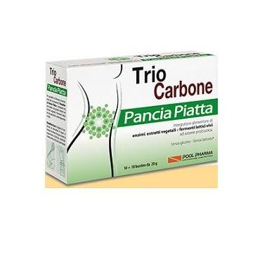 TRIOCARBONE PANCIA PIA 10+10BU