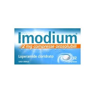 IMODIUM*12CPR OROSOL 2MG