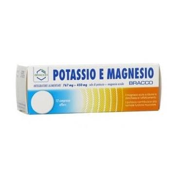 BRACCO POTASSIO+MAGNESIO 12CPR