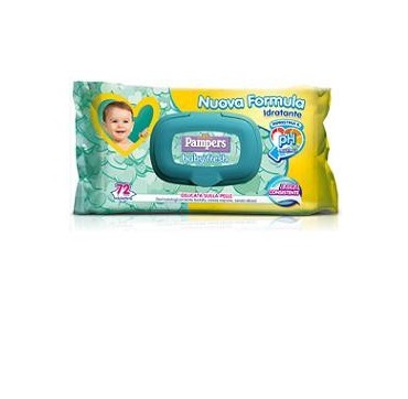 PAMPERS BABY FRESH NUOVA LO72P