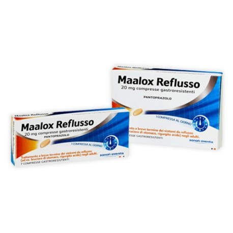 MAALOX REFLUSSO*14CPR 20MG