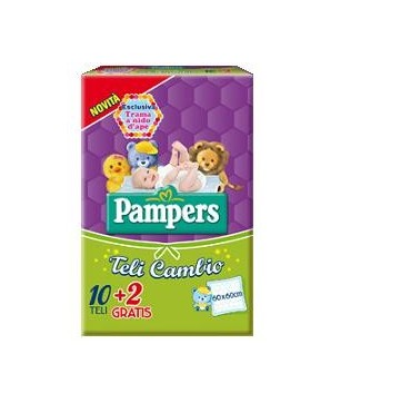 TELO CAMBIO PAMPERS 10+2PZ