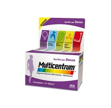 MULTICENTRUM DONNA 30CPR