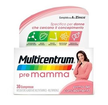 MULTICENTRUM PRE MAMMA 30CPR