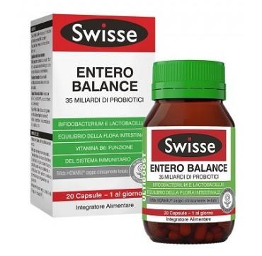 SWISSE ENTERO BALANCE INTEGRATORE ALIMENTARE 20 CAPSULE