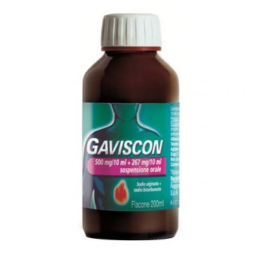 GAVISCON*OS 500MG+267MG/10ML