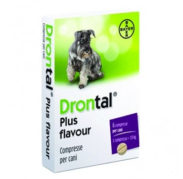 DRONTAL PLUS FLAVOUR*6CPR CANI