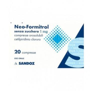 NEOFORMITROL*20CPR OROSOL S/Z