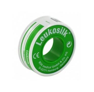 CER ROC LEUKOSILK 1,25X500CM