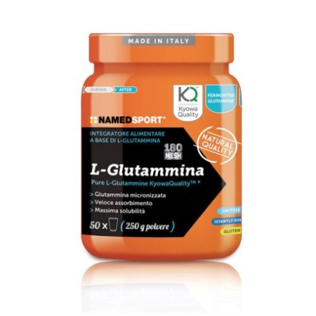 NAMED SpA Named Sport L-Glutammina polvere 250gr