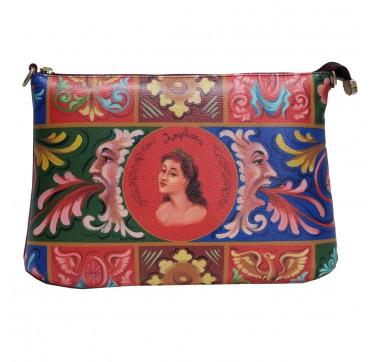 fimminabag - busta con tracolla rossa Angelica