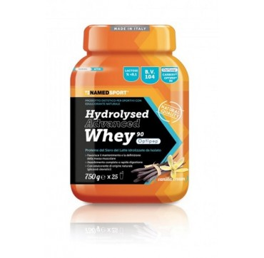 named Hydrolysed advanced Whey Vanilla cream 750 gr