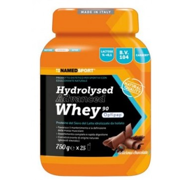 named Hydrolysed advanced Whey Chocolate 750 gr