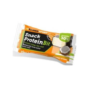 NAMED CRUNCHY PROTEIN BIT cocco 10 SNACKS Mini barrette Proteiche