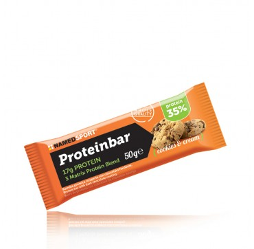 Named PROTEINBAR COOKIES&CREAM 50G