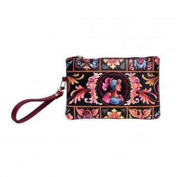 fimminabag - pochette rossa Bradamante