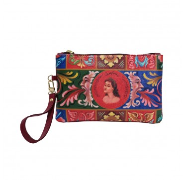 fimminabag - pochette rossa Angelica