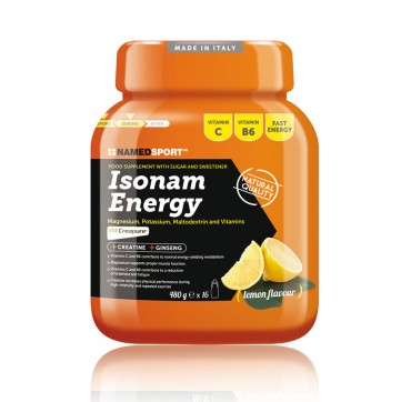 ISONAM ENERGY LEMON 480G