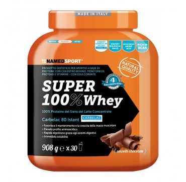 Named SUPER 100% Whey SMOOTH CHOCOLATE