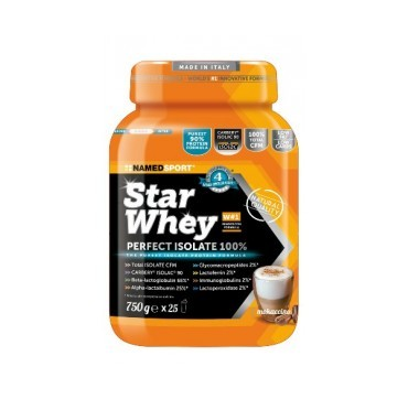 Named Star Whey  PERFECT ISOLATE 100% mokaccino 750g