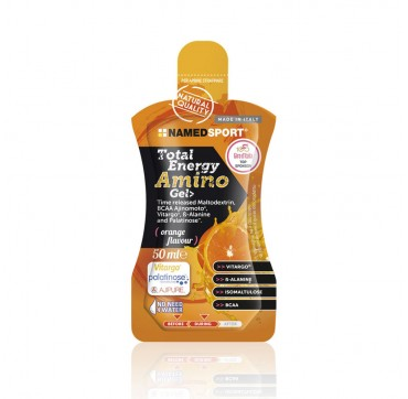 NAMED SPORT TOTAL ENERGY AMINO GEL ARANCIA 50ML