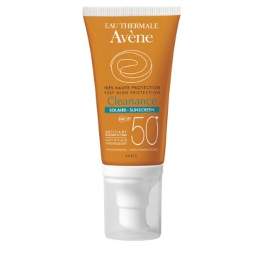 EAU THERMALE Avène Cleanance SOLAIRE SPF 50+