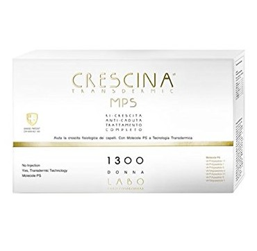 Labo International Crescina Transdermic trattamento completo 1300 Donna 20 fiale