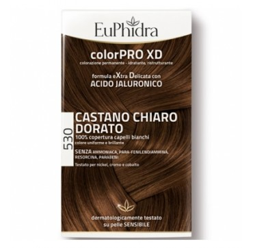 EUPHIDRA COLORPRO XD530 CASTANO CHIARO DORATO