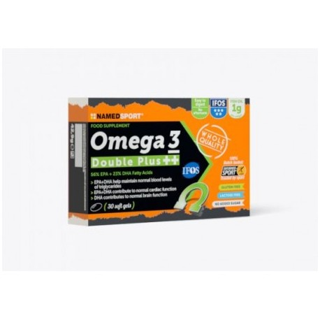 NAMED OMEGA 3 DOUBLE PLUS++ 30 CAPSULE SOFT Gel