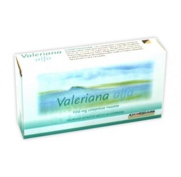 VALERIANA ALFA*30CPR RIV 100MG