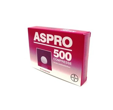 ASPRO 500*20CPR 500MG