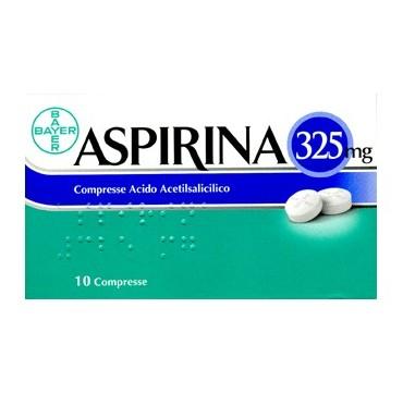 ASPIRINA*10CPR 325MG