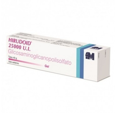HIRUDOID 25000UI*GEL 40G