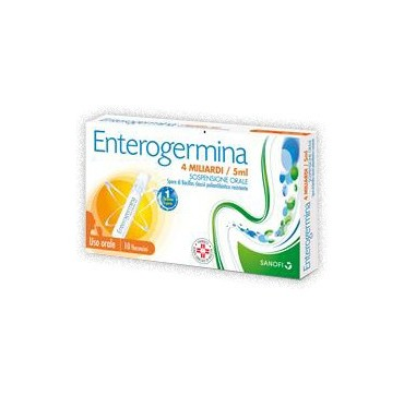 ENTEROGERMINA*OS 10FL 4MLD 5ML