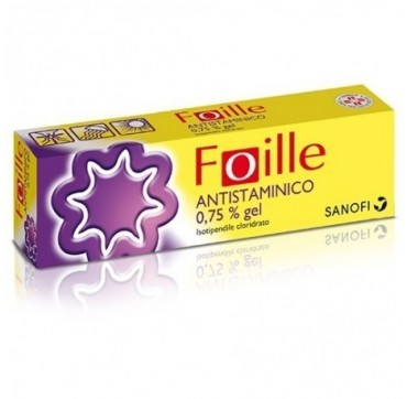 FOILLE ANTISTAM*GEL30G 7,5MG/G