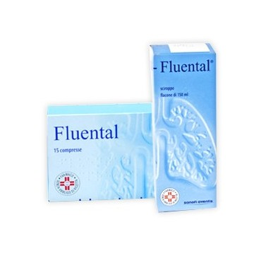 FLUENTAL*SCIR 150ML 12,8+8MG/M