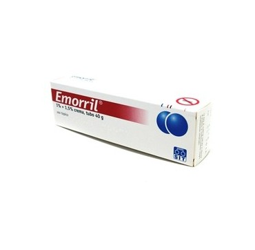 EMORRIL*CREMA 40G 1%+1,5%