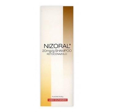 NIZORAL*SHAMPOO FL 80G 20MG/G