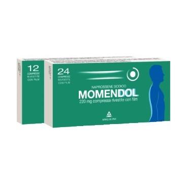 MOMENDOL*24CPR RIV 220MG