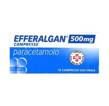 EFFERALGAN*16CPR 500MG