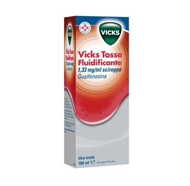 VICKS TOSSE FLUIDIF*FL 180ML