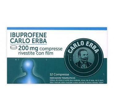 IBUPROFENE C ERBA*12CPR 200MG