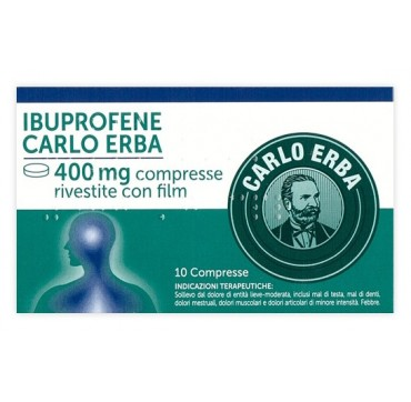 IBUPROFENE C ERBA*10CPR 400MG
