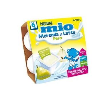 MIO MERENDA PERA 4X100G