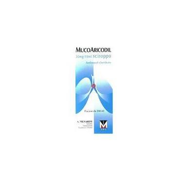 MUCOARICODIL*SCIR 600MG 200ML