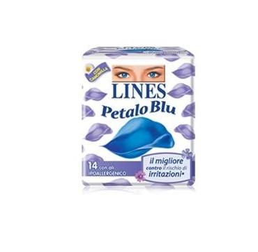 LINES PETALO BLU NOTTE ALI 10P