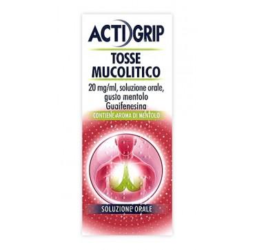 ACTIGRIP TOSSE MUCOL*FL 150ML