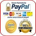 pagamento online sicuro con paypal e carta di credito